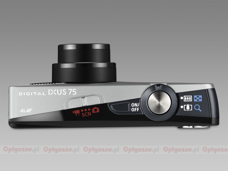 digital ixus 75: