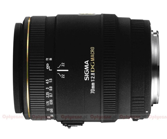 Sigma 70 mm f/2.8 EX DG Macro - lens review
