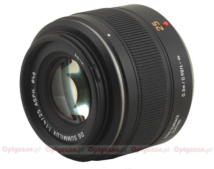Panasonic Leica DG SUMMILUX 25 mm f/1.4 ASPH. - lens review