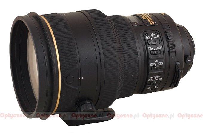 Nikon Nikkor AF-S 200 mm f/2G ED VRII - lens review
