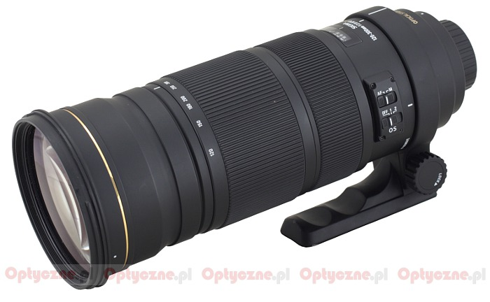 Sigma 120-300 mm f/2.8 APO EX DG OS HSM - lens review