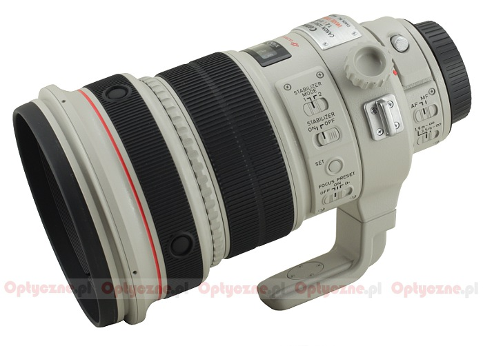 Canon EF 200 mm f/2.0L IS USM - lens review