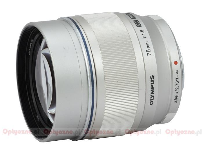 Olympus M.Zuiko Digital 75 mm f/1.8 ED - lens review