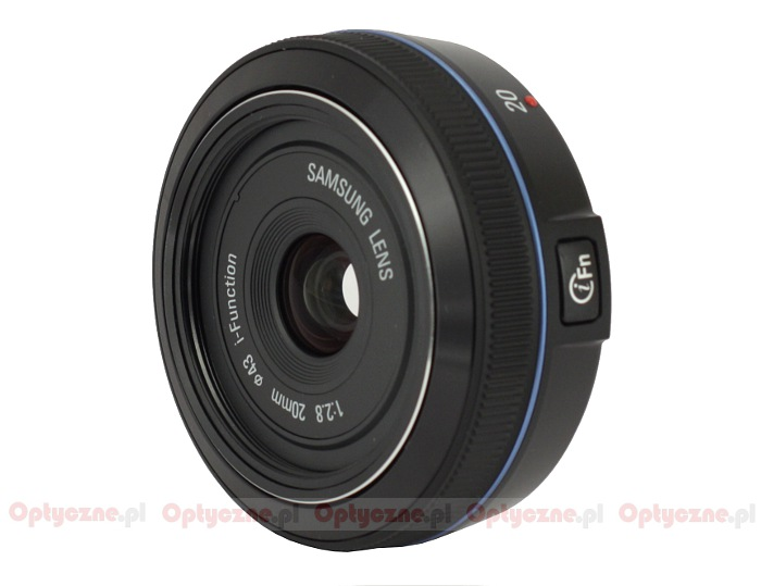 Samsung NX 20 mm f/2.8 - lens review