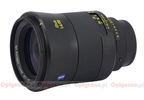 Zeiss Otus 55 mm f/1.4 ZE/ZF.2 - lens review