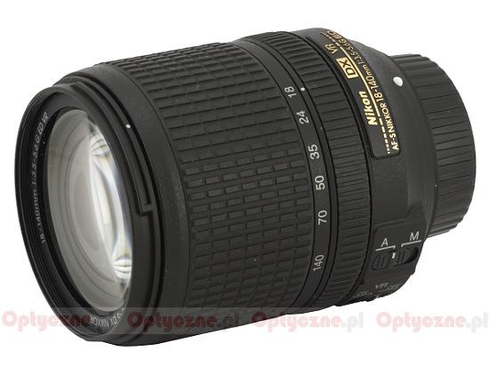 Nikkor AF-S DX 18-140 mm f/3.5-5.6G ED VR - lens review