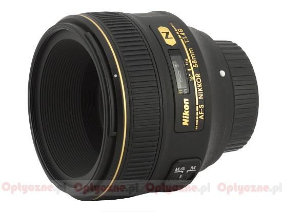 Nikon Nikkor AF-S 58 mm f/1.4G - lens review