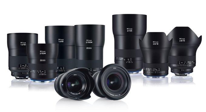 Zeiss Milvus 15 mm f/2.8, 18 mm f/2.8 oraz 135 mm f/2