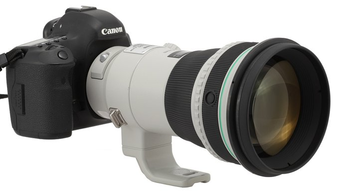 Canon EF 400 mm f/4 DO IS II USM - Wstęp