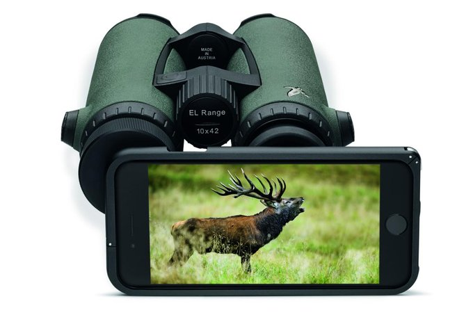 Swarovski Optik PA-i8 - digiscoping ze smartfonem iPhone 8