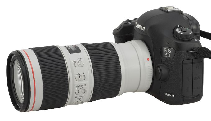 Canon EF 70-200 mm f/4L IS II USM - Wstęp