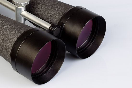 Two giant binoculars from Delta Optical