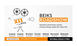 Program BEiKS RoadShow 2017 - Wygraj Edius 9