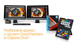 Capture One - można tworzyć profile ICC z ColorChecker Passport
