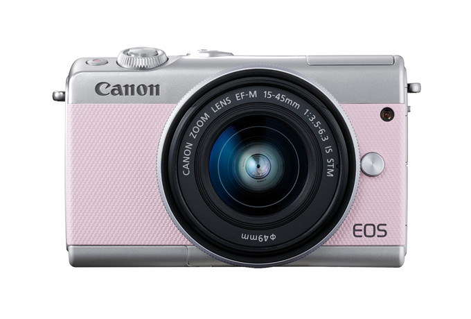 Canon EOS M100 - edycja Limited Pink