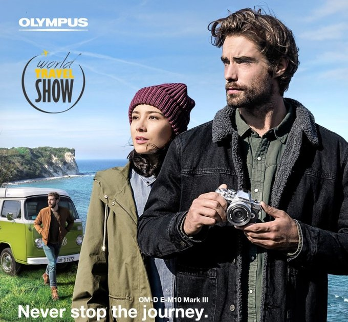 Olympus na World Travel Show 2018