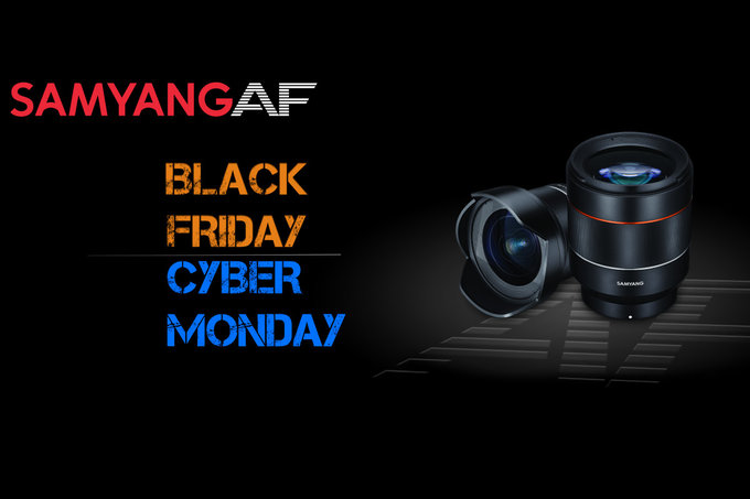 Black Friday i Cyber Monday z obiektywami Samyang