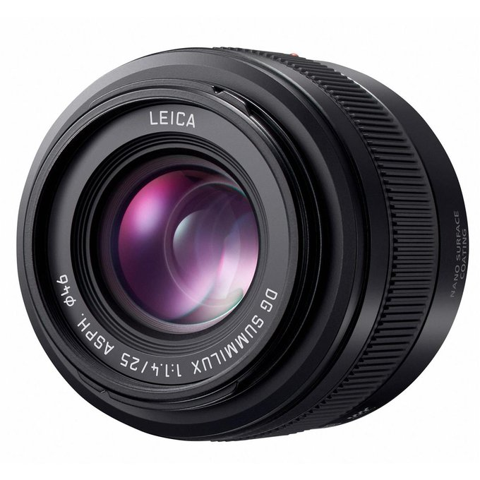 Panasonic Leica DG Summilux 25 mm f/1.4 II ASPH