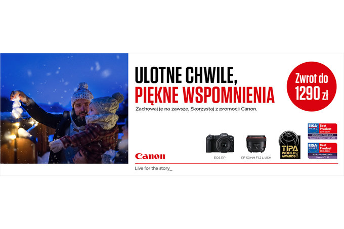 Canon - zimowy cashback