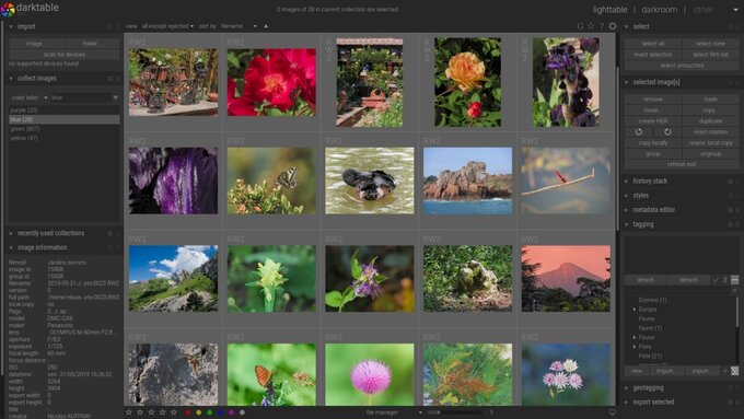 darktable 3.0.0